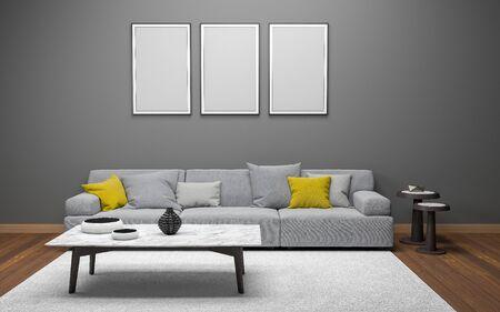 Quelle taille de tableau sur un mur ?